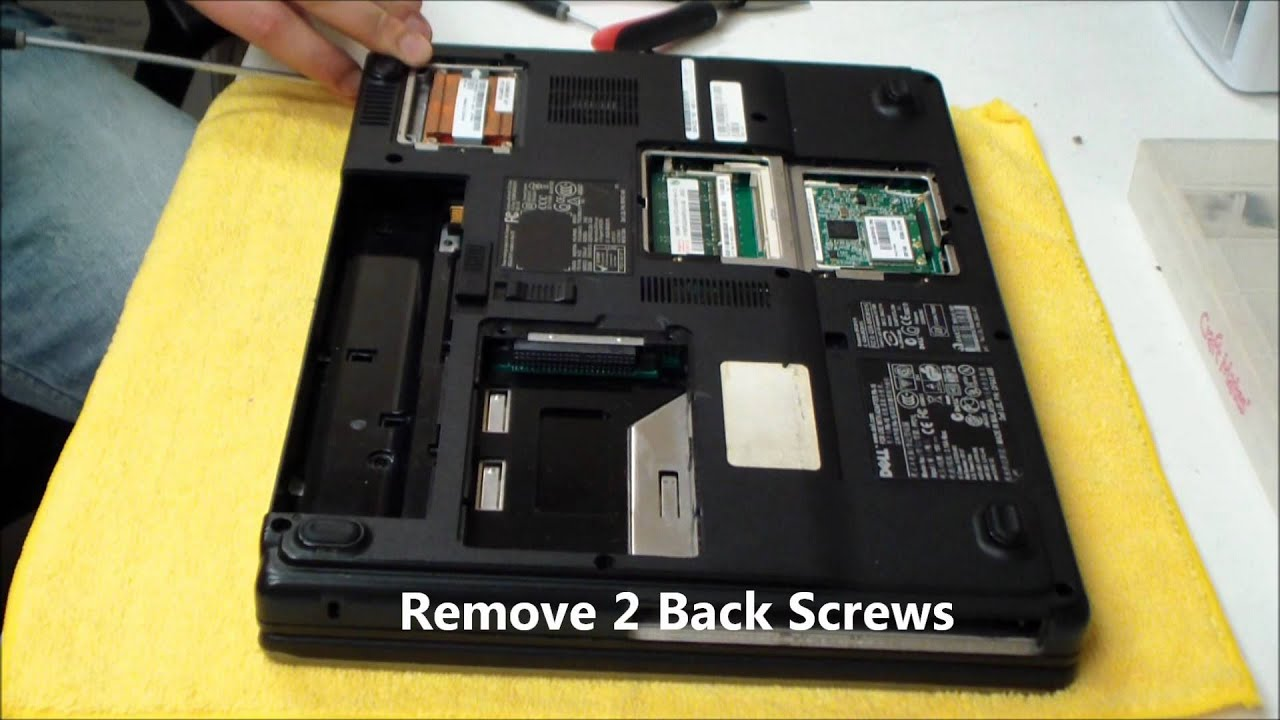 How to take apart a dell inspiron 15 5100