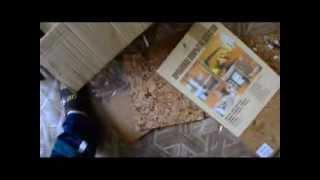 видео Укладка настенной и напольной пробки
