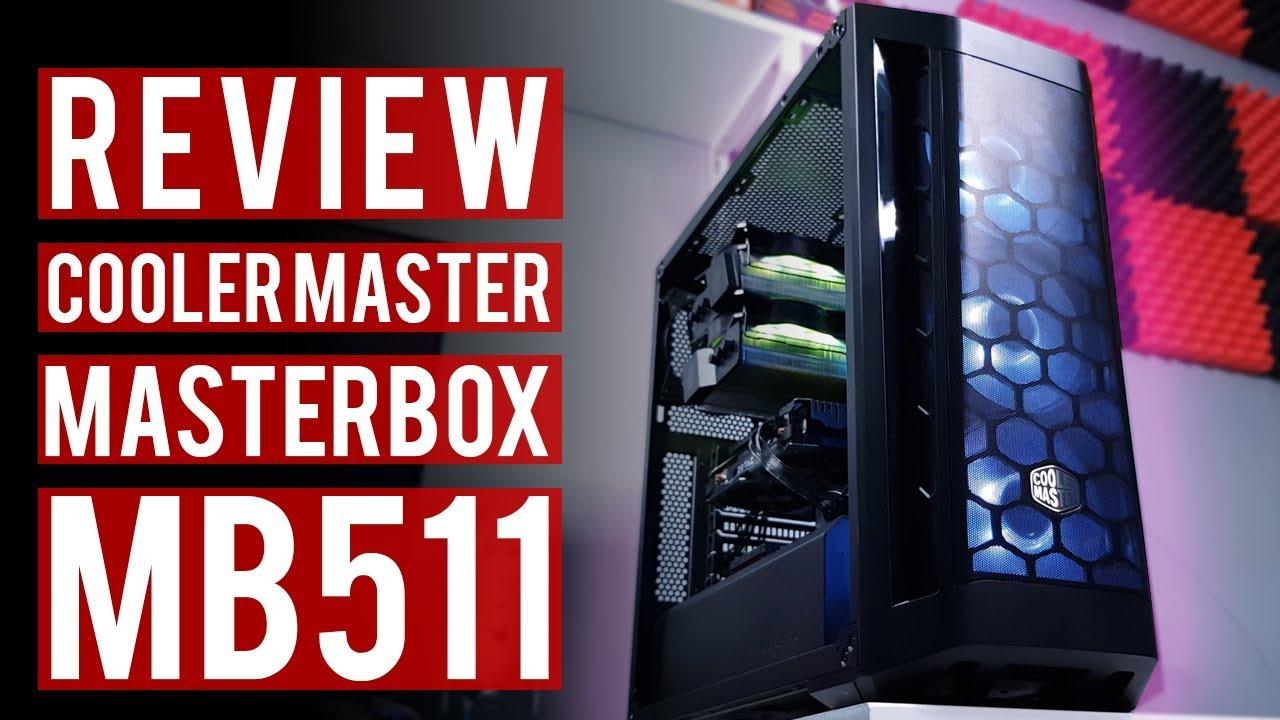 Casing Airflow Terbaik - Review Cooler Master Masterbox MB511