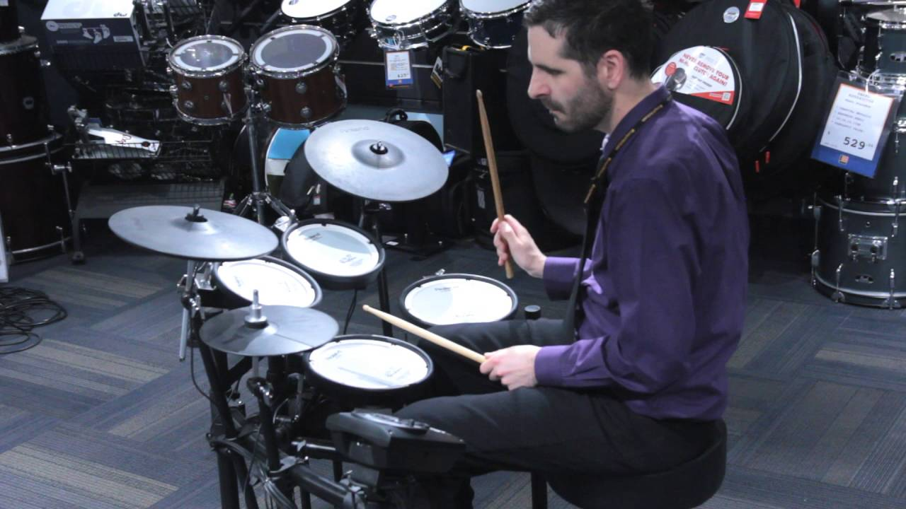Roland TD-11 Series V-Drums with new TD-11KV Special Edition - YouTube