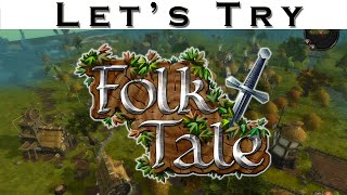 Let's Try Folk Tale - RPG City BUilder - ** CHECK DESCRIPTION FOR UPDATED VIDEO ** - Gameplay Review