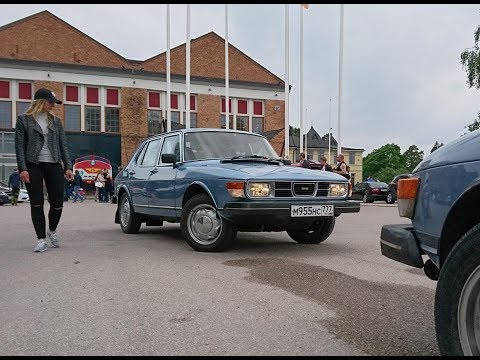 Saab Car Museum Festival 2017 - trip from Moscow with Saab 9