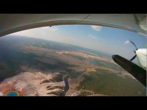 Yellowstone Flying Adventure