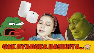 MAKEUP CHALLENGE PAKE BUBBLE WRAP SEMUKA-MUKA!!! | Indira Kalistha Video
