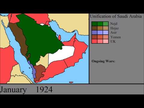 The Unification of Arabia: Every Month