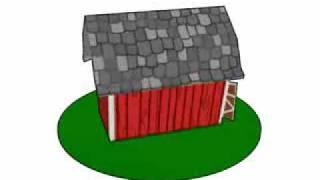 Dutch Barn 3d Model - Sheep Siege