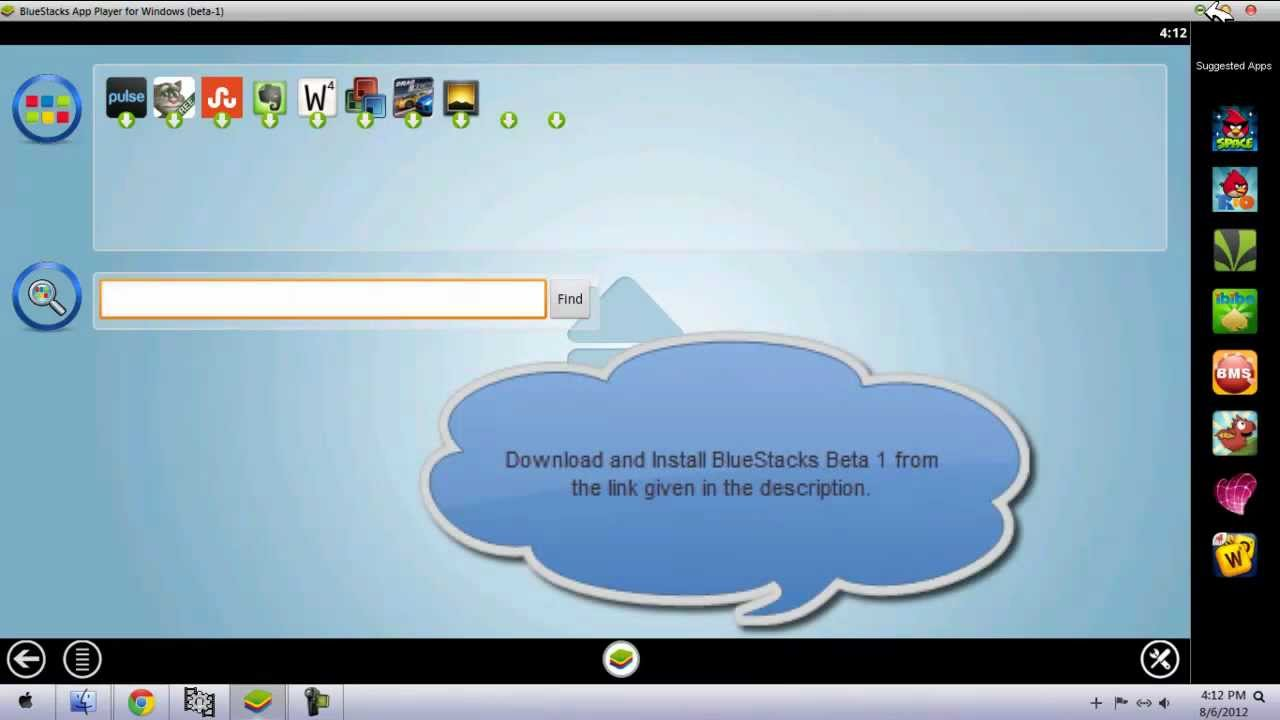 How to download and install bluestack n beta android emulator on.
