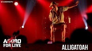 ALLIGATOAH - WAS DER BAUER NICHT KENNT - AGGRO 4 LIVE (OFFICIAL HD VERSION AGGROTV)