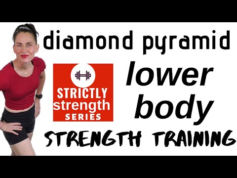 PYRAMID LOWER BODY STRENGTH TRAINING   WEIGHT TRAINING FOR LOWER BODY  SCULPT & TONE LOWER BODY
