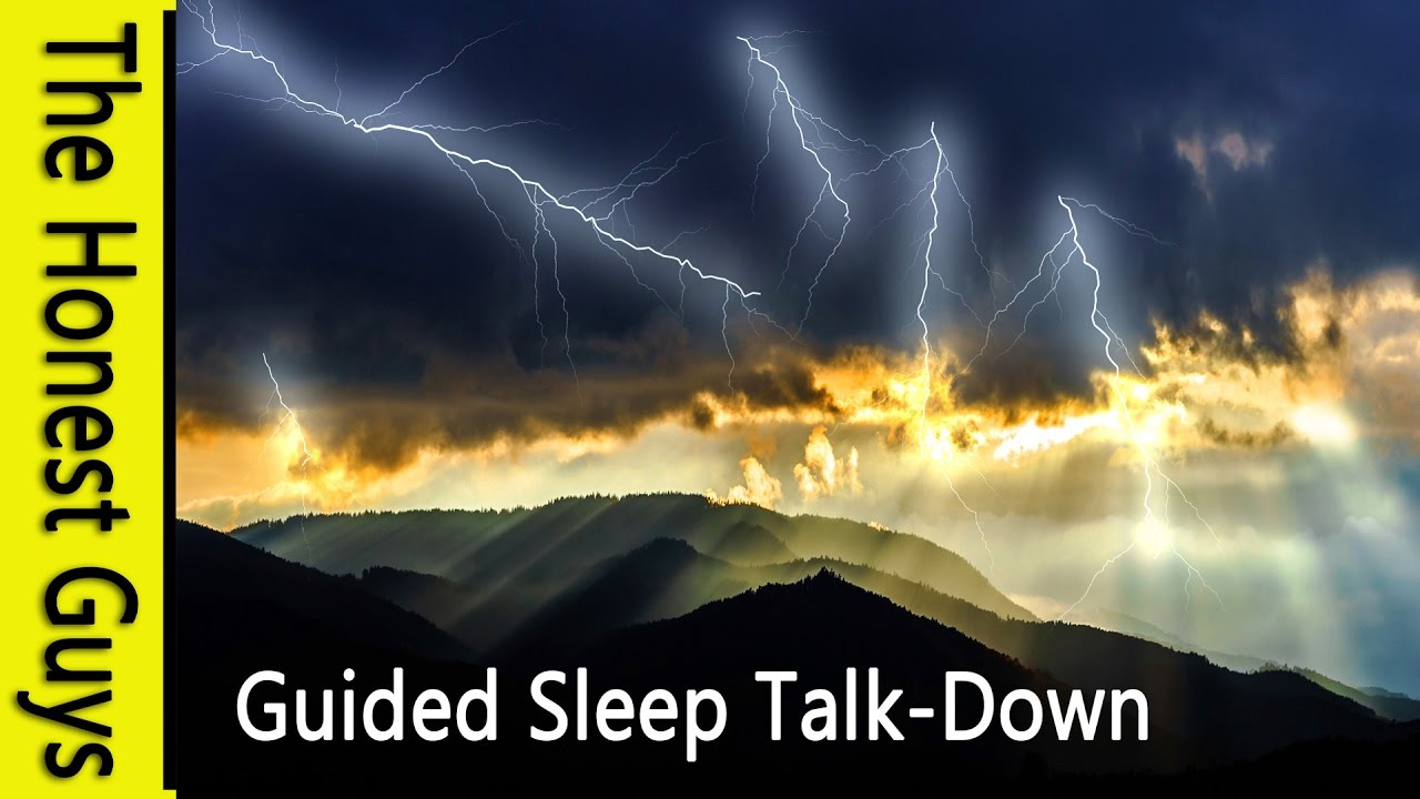 GUIDED SLEEP MEDITATION - The Summer Evening Thunderstorm