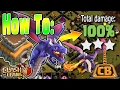 How to use TH8 Dragons! - DragLoon 3 Star Strategy - Clash of Clans TH8 War Strategy Guide