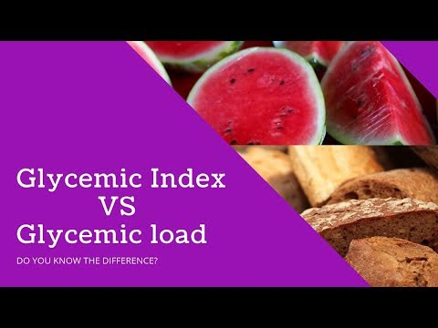Glycemic index foods vs Glycemic load foods - DO YOU KNOW THE DIFFERENCE? part 1