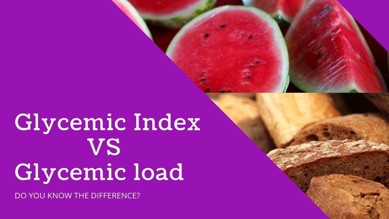 We consider the glycemic index - not out of curiosity, but for health and good shape