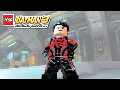 LEGO Batman 3 - Superboy - Free Roam Gameplay