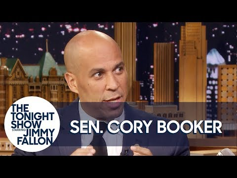 "Senator Cory Booker Explains His Famous ""Bring It"" Moment"