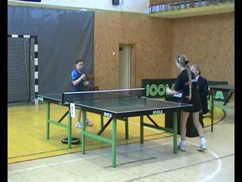 9 years old table tennis player -lithuanian champion neta alon.wmv