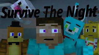 Survive The Night FULL MINECRAFT ANIMATION