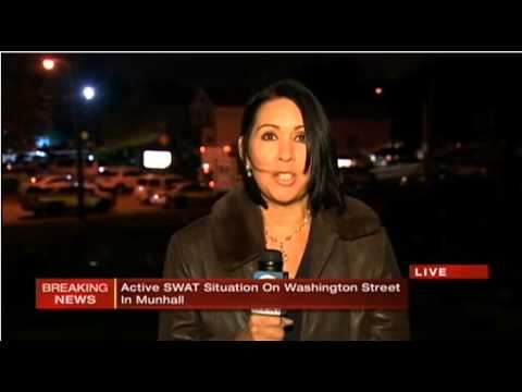 1 Shot as Police Swat Team Pittsburgh Munhall PA Shooting Abduction Schools Closed