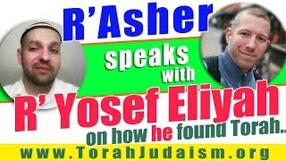 R' Asher speaks with R' Yosef Eliyah