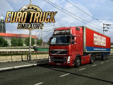 Euro Truck Simulator 2 - #3 - Lyon - Sheffield (Part 1)