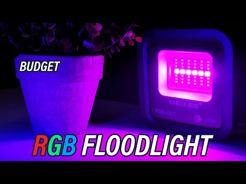 Budget RGB for Outdoors?! MEIKEE Wireless RGB IP66 Floodlight