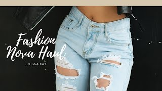FASHION NOVA JEAN TRY ON HAUL 2018