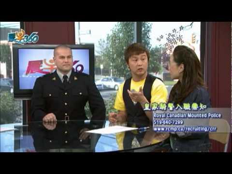 WOWtv 晨早360-Jason R.Pinder Royal Canadian Mounted Police(國+粵)