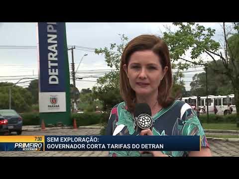 Governador Ratinho Jr. corta tarifas do Detran - Primeiro Impacto PR (17/01/19)