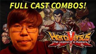 MOBILE FIGHTING GAME COṀBO VIDEO? HERO VERSUS FULL CAST!!!