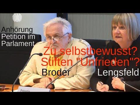 Lengsfeld-Petition im Bundestag stifte