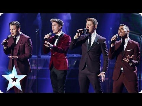 Jack Pack sing Feeling Good | Britain's Got Talent 2014 Final