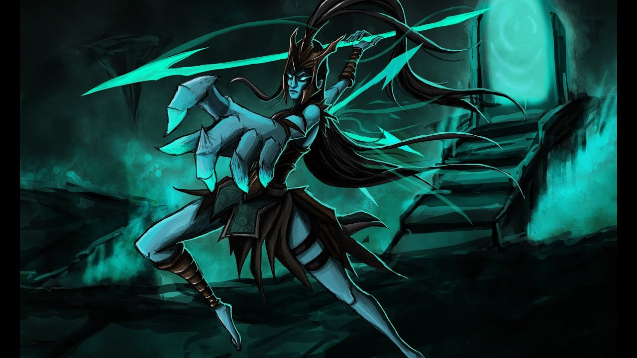 Kalista League Of Legends Minimalist Wallpaper By: League Of Legends - Kalista