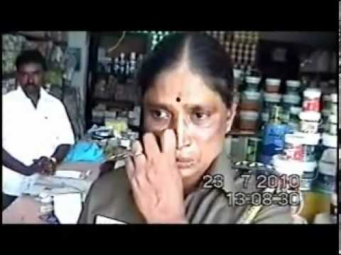 Tamil Police Corruption caught on camera - YouTube