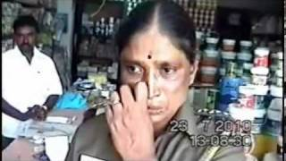 Tamil Police Corruption caught on camera