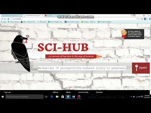 download free research articles and books  using Sci hub (with IDM)