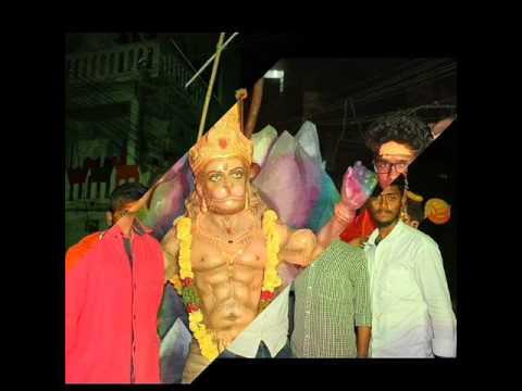 Ramanthapur jsr GuYs rally hanuman jayanthi