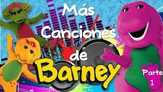Barney | Más Canciones de Barney (Spanish-Español) Parte 1