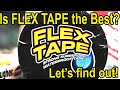 Is Flex Tape better than Gorilla and other premium brands?  Let's find out!