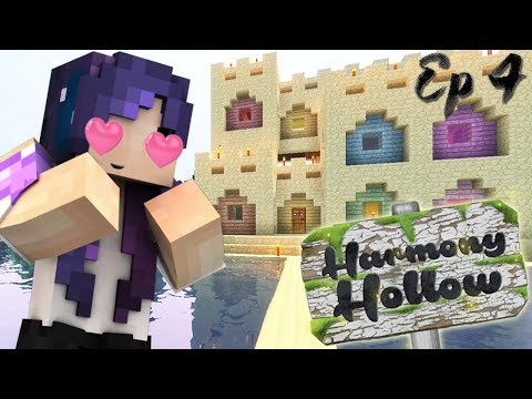 My NEW Sand Castle House! | Harmony Hollow Modded SMP - Ep. 4