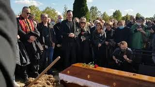 Na sahrani Bore Drljače njegov sin neutešan: Oprosti ako nešto nismo dobro uradili