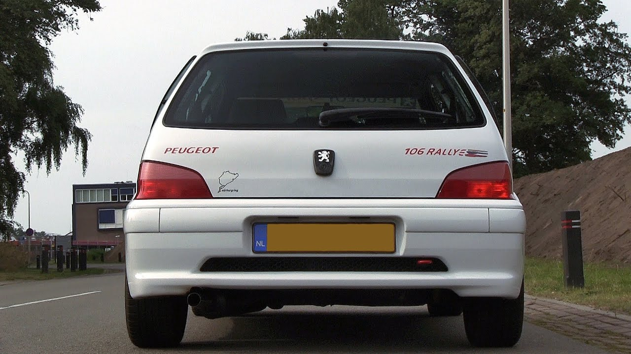 my peugeot 106 rallye with supersprint exhaust sound youtube. Black Bedroom Furniture Sets. Home Design Ideas