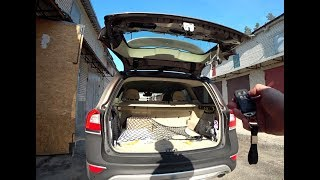 Tailgate Module Installation on Volvo XC70/V70 with electromechanical drive.