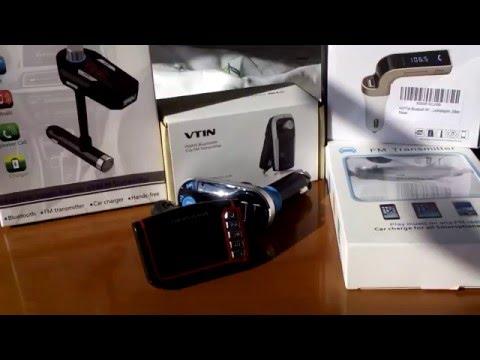 Der große  Bluetooth FM Transmitter Vergleich Test