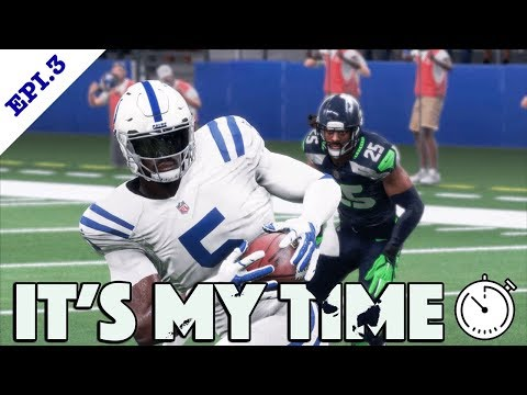 Madden 18 Player Franchise | Coach What Are you Doing | Its My Time Epi 3