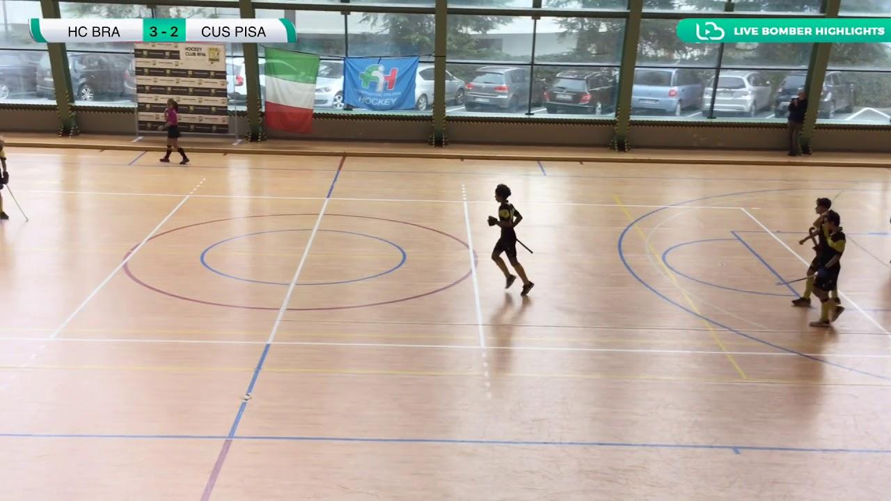 ???? Finale 3^ Posto #U18M #Indoor ~ CUS Pisa ???? HC Bra ????