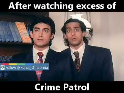 Crime Patrol Funny Video | Kunal Chhabhria