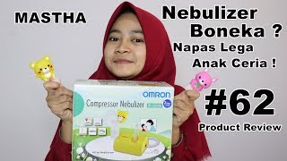 Review Nebulizer Compressor OMRON NE - C801KD | Mastha Product Review #62