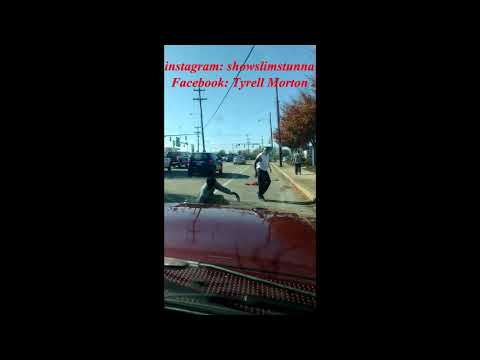 Fight in the middle of the street - Richmond Va