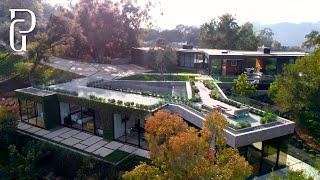 28 Million Dollar Luxury Beverly Hills Mansion 9601 Oak Pass Road Beverly Hills California Youtube
