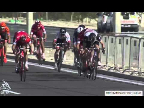 Tour of Qatar 2016 - stage 2 - Finish
